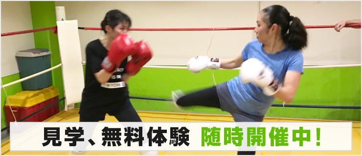 キックボクシングジム格闘道場G1